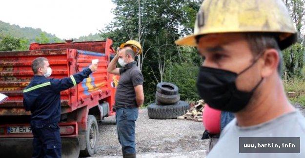Karantina süresi dolan madenciler işbaşı yaptı