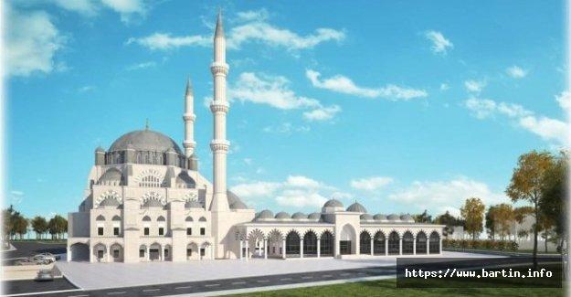 Bartın Merkez Camii Kaba İnşaatı 3 Yılda Tamamlanacak