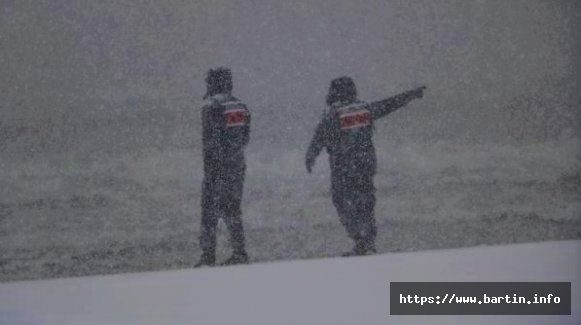 Geminin Kayıp 5 Mürettebatı Yoğun Kar Altında Aranıyor