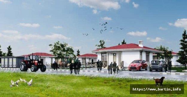 TOKİ'den Kozcağız'a 188 Köy Konutu