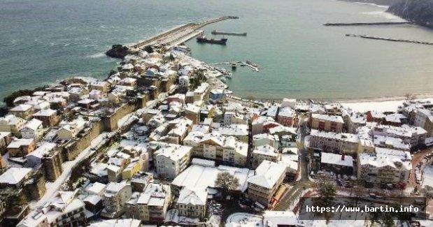 Amasra'da Kar Güzelliği