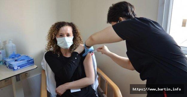 Bartın'da Aşı Sayısı 10 Bin'i Aştı