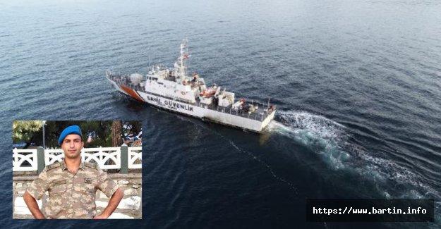 Tekne Faciasında Kaybolan Teğmen Aranıyor