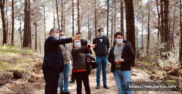 KöyPark Projesi'ne Kazma Vuruldu