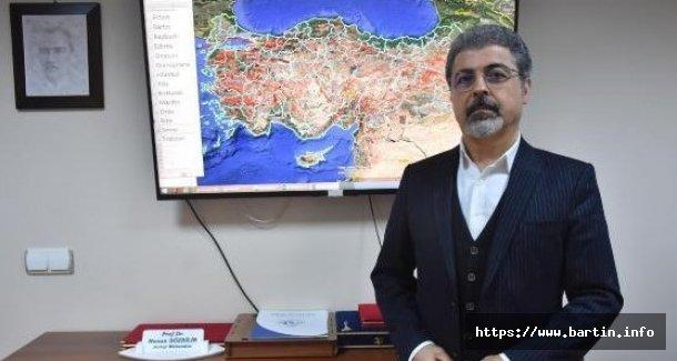 Profesör'den Bartın'da Deprem Açıklaması
