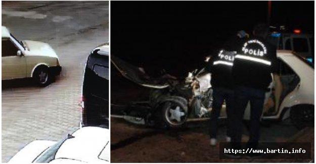 Feci kaza kamerada: 1 Ölü, 2 Yaralı