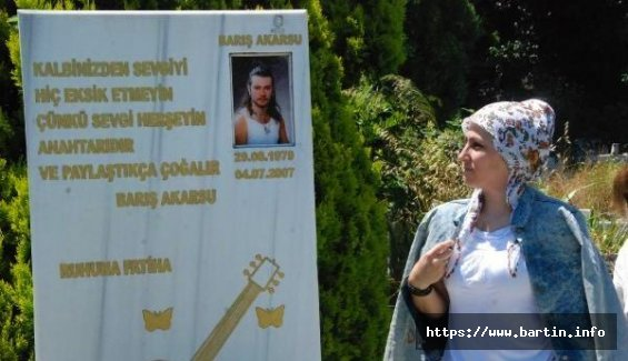 Barış, 42.Yaşında Mezarı Başında Anıldı