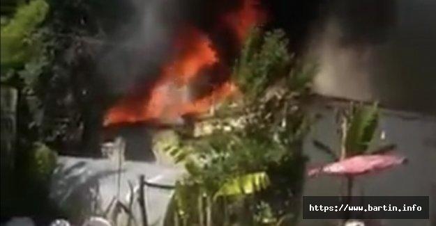 Kırtepe'de Yangın: 2 Yaralı