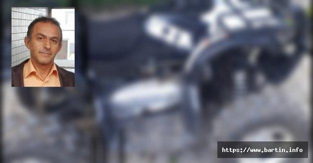 Uçuruma Yuvarlanan ATV Sürücüsü Öldü