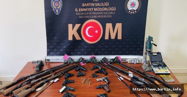 Bartın Merkezli 3 İlde Silah Operasyonu: 11 Gözaltı