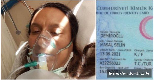 Annesi Virüse Yenilen Masal Bebek Vefat Etti