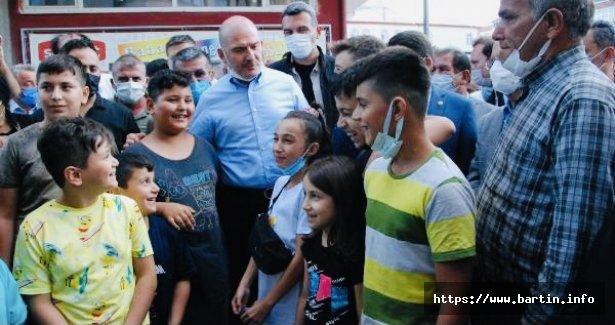 Bakan'dan Çocuklara 50 Bisiklet Sözü