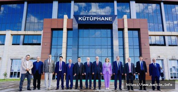 Batı Karadeniz Üniversiteleri Rektörleri Bartın'da