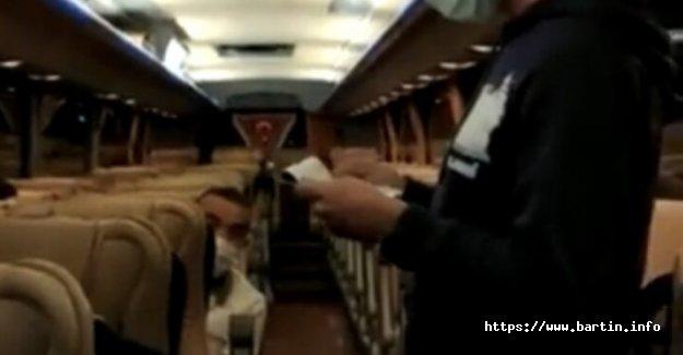 Bartın'da 49 Yolcu Yakalandı