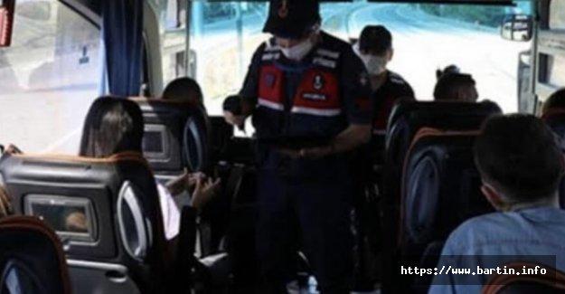 Yolcu Otobüsünde Bir Kişi Pozitif Çıktı