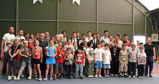 23 Nisan Bocce ve Tenis Turnuvası sona erdi