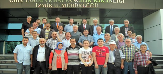 30 önder çiftçi İzmir Ekolojik Ürünler Fuarı'na katıldı