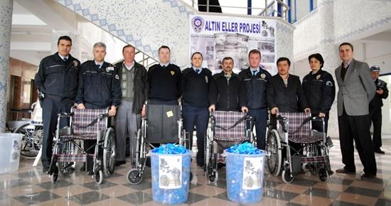 34 Tekerlekli Sandalye İhtiyaç Sahibine Ulaştı
