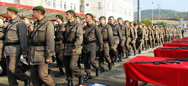 357. Kısa Dönem Askerler Yemin Etti