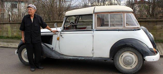 39 Model Klasik Otomobil Bartın Sokaklarında