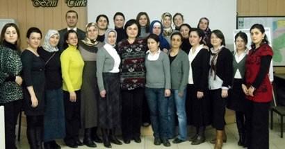 3. Grup Güvenli Annelik Modül Eğitimi tamamlandı