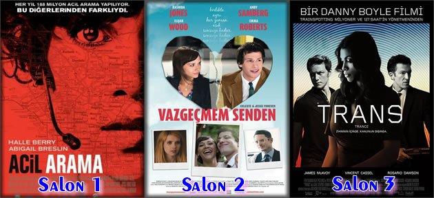 3 Yeni Film Vizyona Giriyor