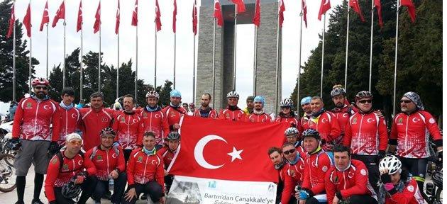 4. Şehitlere Saygı Bisiklet Turu Sona Erdi
