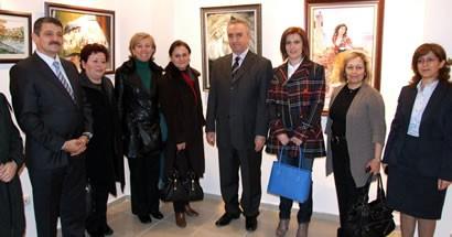 8 Mart Kadınlar Günü Resim Sergisi açıldı