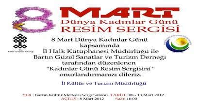 8 Mart Kadınlar Günü Resim Sergisi
