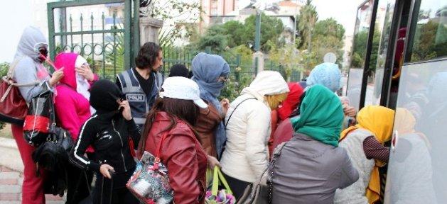 9 Aylık Hamile Kadını Fuhuştan Polis Kurtardı