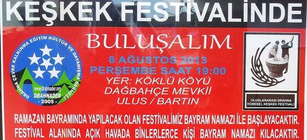 9.Drahna Keşkek Festivali 8 Ağustos'ta