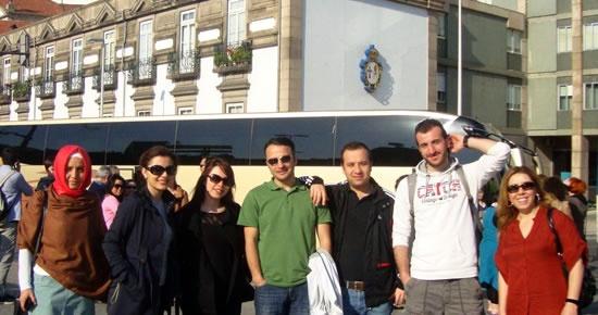 AB Projesi ile Portekiz'e giden Kumluca kafilesi yurda döndü