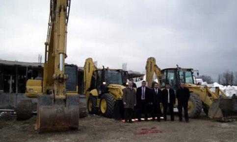 ABA İnşaat makina parkını geliştiriyor