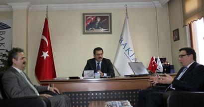 Adalet Komisyonu Başkanı Çelen'den Bakiad'a ziyaret
