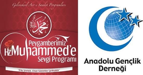 AGD Peygamberimiz Hz.Muhammed'e Sevgi Programı düzenliyor