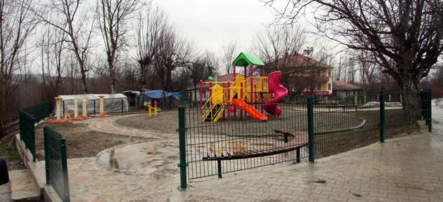 Ağdacı'ya iki yeni park