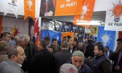 Ak Parti Adayları Tunç ve Kalay Kurucaşile'de