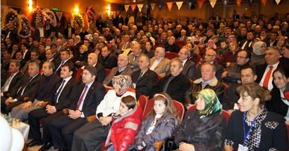 AK Parti Bartın 4. Olağan İl Kongresi Bakan Eker'in katılımıyla gerçekleştirildi