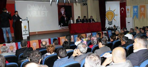 Ak Parti Ekim ayı İl Danışma Meclisi Toplantısı Yapıldı
