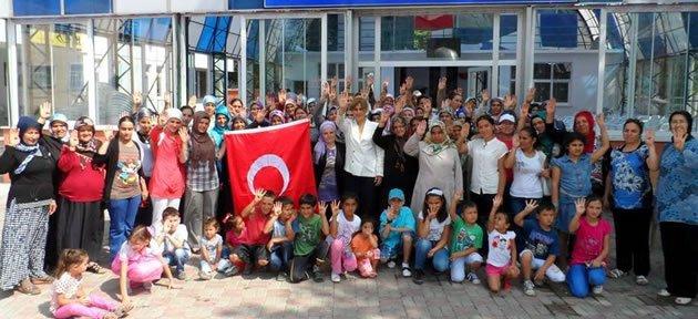 Ak Parti Hasankadı Kadın teşkilatı toplandı