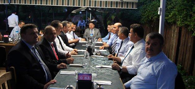 Ak Parti İl Yönetimi Ankara'da