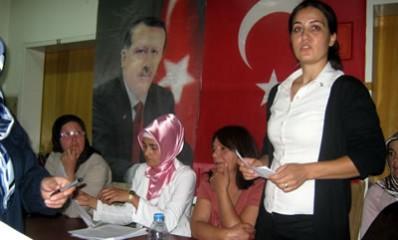 Ak Parti Kadın Kolları Ulus İlçe Kongresi Yapıldı