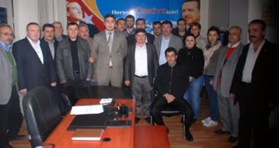 AK Parti Merkez İlçe'de görev dağılımı