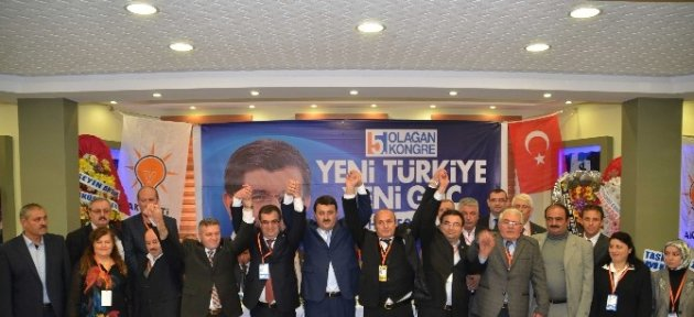 Ak Parti Taşköprü'de Ali Eşref Sevim İle 'devam' Dedi