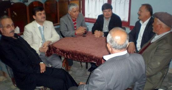 Ak Parti teşkilatından ziyaretler