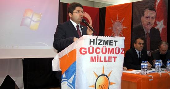 AK Parti Ulus İlçe Danışma Meclisi toplandı