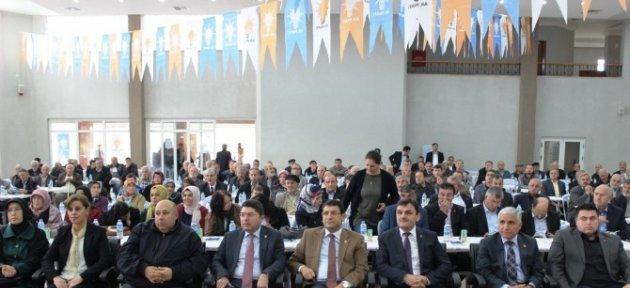 Ak Parti Ulus İlçe Kongresi Yapıldı