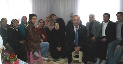 Ak Parti'den 8 Mart ziyaretleri