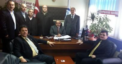 Ak Parti'den SGK İl Müdürü'ne ziyaret