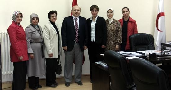Ak Partili kadınlardan Başhekim Kalay'a ziyaret